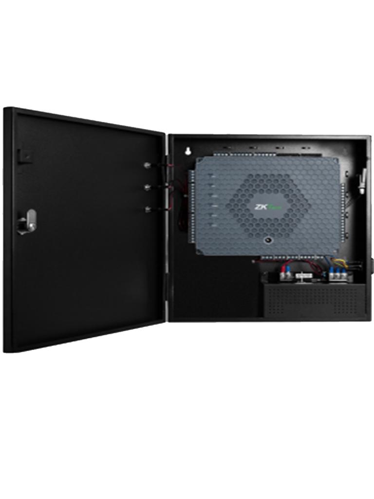ZK ATLAS460B - Control de acceso para 4 puertas / Interfaz WEB / 5 000 Tarjetas / 5 000 Huellas / 10 000 Eventos / Con gabinete (proximamente)