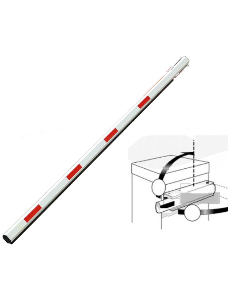 WEJOIN ARM3MP - Brazo recto de 3 metros / Caucho inferior / Sistema de brazo oscilante / Incluye abrazadera de impacto