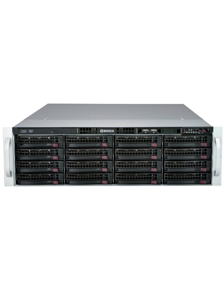 BOSCH V_DIP72GC16HD- DIVAR IP 7000 AIO/ 3U/ HASTA 256 CANALES/16 HDD DE 12TB.