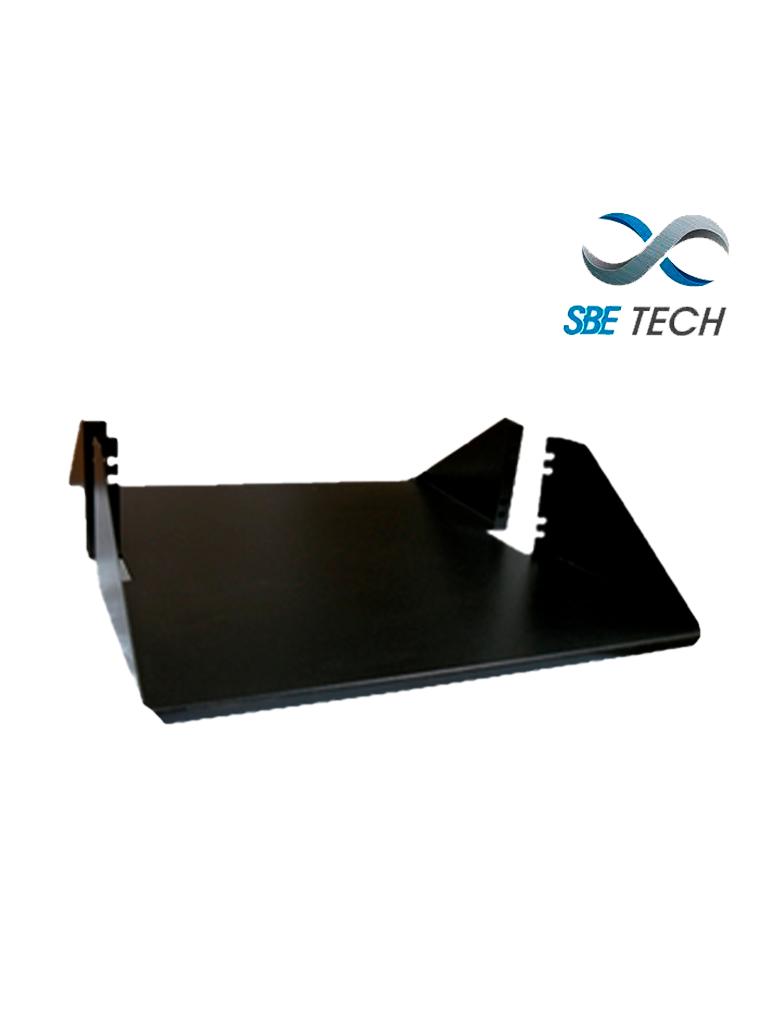 """SBETECH SBE-CDL1P1918- Charola Doble para rack con medidas de 19"""" de ancho x 18 de largo, y soporta hasta 34 kg."""