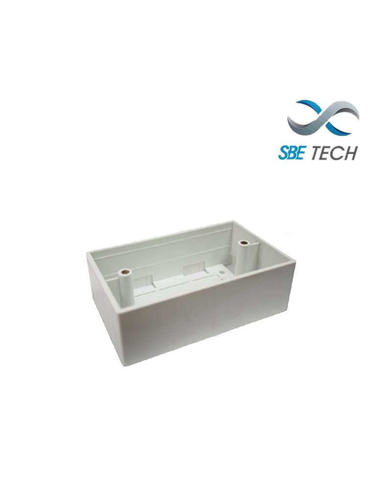 SBETECH SBE-CUNIV2- Caja universal de PVC 2X4 reforzada/ Rango de temperatura de trabajo -20ºC hasta +65ºC/ Facil instalación/ Fácil limpieza