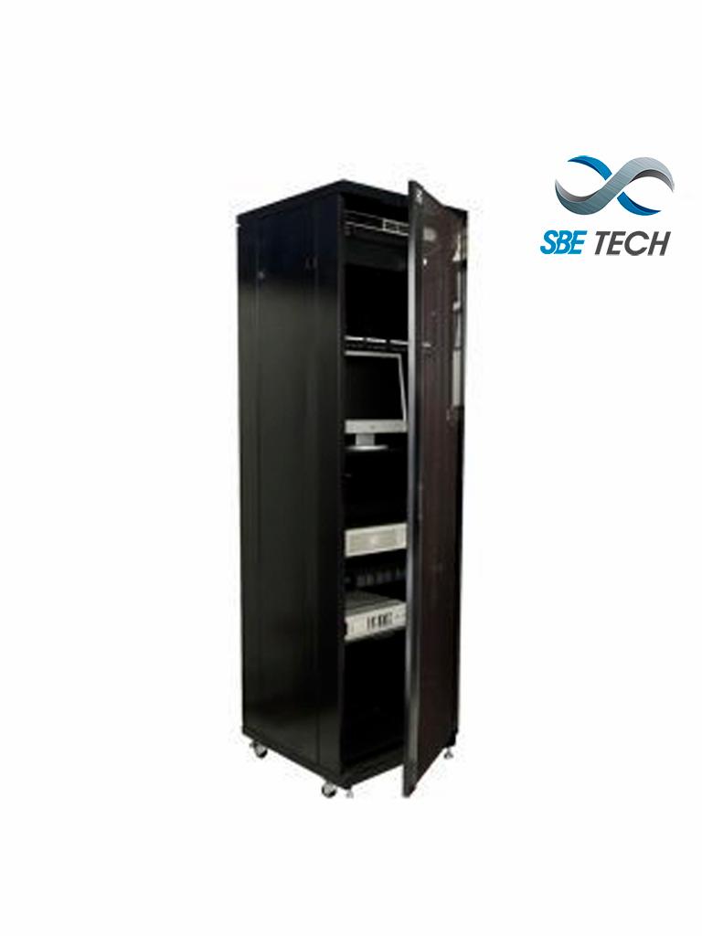 SBETECH SBE-GNL42URP600 - Gabinete de Piso / 42 UR / Puerta de cristal / profundidad 600 mm