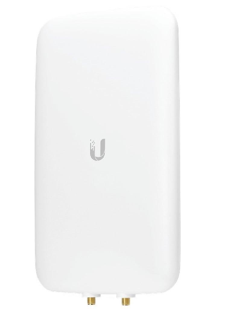 UBIQUITI UMAD- Antena Sectorial de Doble Banda/ Compatible con UAPACM/ Antena de 90 Grados a 10dBi en 2.4GHz/ Antena de 45 Grados a 15dBi en 5GHz