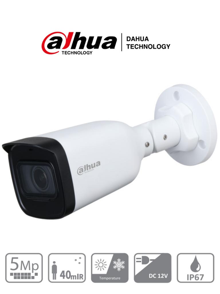 DAHUA HAC-B3A51-Z - Camara Bullet de 5 Megapixeles/ Lente Motorizado de 2.7 a 12 mm/ IR de 40 Mts/ IP67/ CVI/CVBS/AHD/TVI/ #LoNuevo