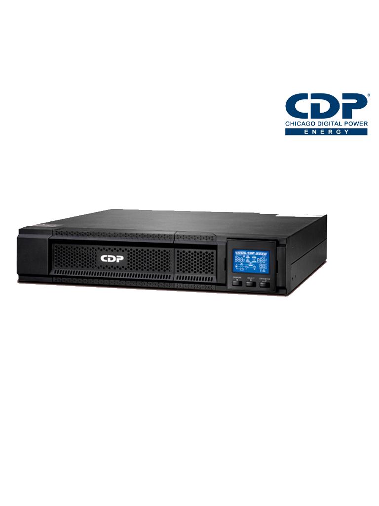 CDP  UPO113RT- UPS ONLINE/ 3000 VA/2700W/ ONDA  SENOIDAL PURA/  RACKEABLE/ PANTALLA  LCD  ROTATIVA/ 8 CONTACTOS NEMA 5-15R/