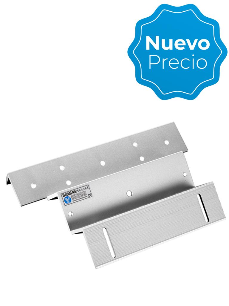 YLI MBK280NZL - Soporte de fijación ZL de aluminio para puerta con apertura interior / Compatible con cerradura magnética YM280N y YM80NLED/ #NuevoPrecio