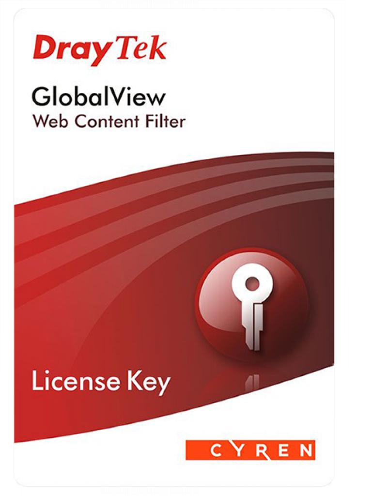 DRAYTEK ACARD - Licencia de filtrado de contenido WEB para vigor 2830 / 2850 / 2860 / 2862 / 2920 / 2925 / 2926 / 12 Meses