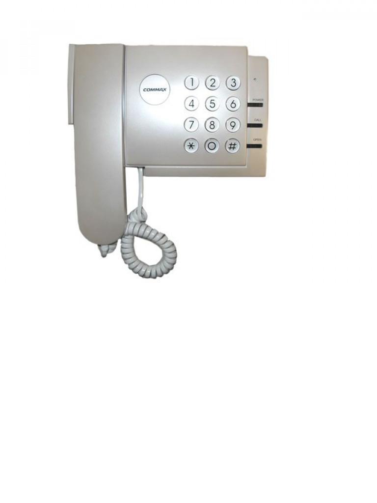 COMMAX bCDS2MG - Estacion central para guardia / Auricular / Compatible con distribuidor de edificio