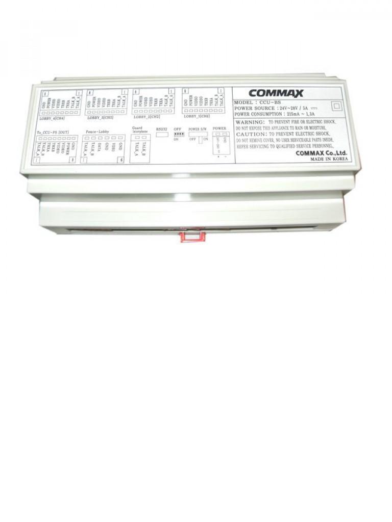 COMMAX bCCUBS - Distribuidor de edificio para videoporteros / Soporta hasta 50 distribuidores de piso