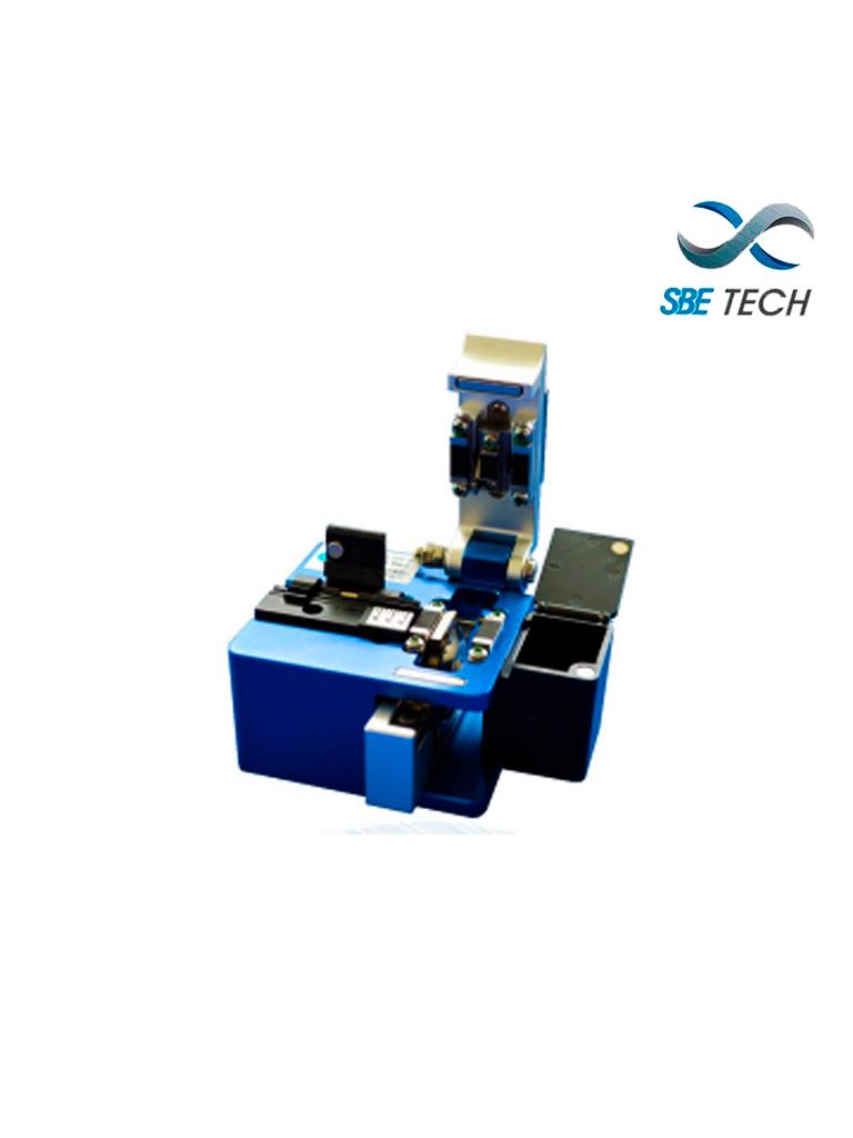 SBETECH SBE-CFOD - Cortadora para fibra óptica de 250um, 900um, 2mm, 3mm y drop, incluye deposito para residuos de fibra
