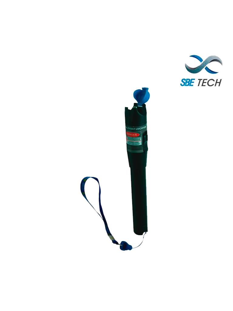 SBETECH SBE-EM10K - Localizador visual de fallas profesional diseñado ,el enrutamiento y la verificación de la continuidad de fibra óptica en campo