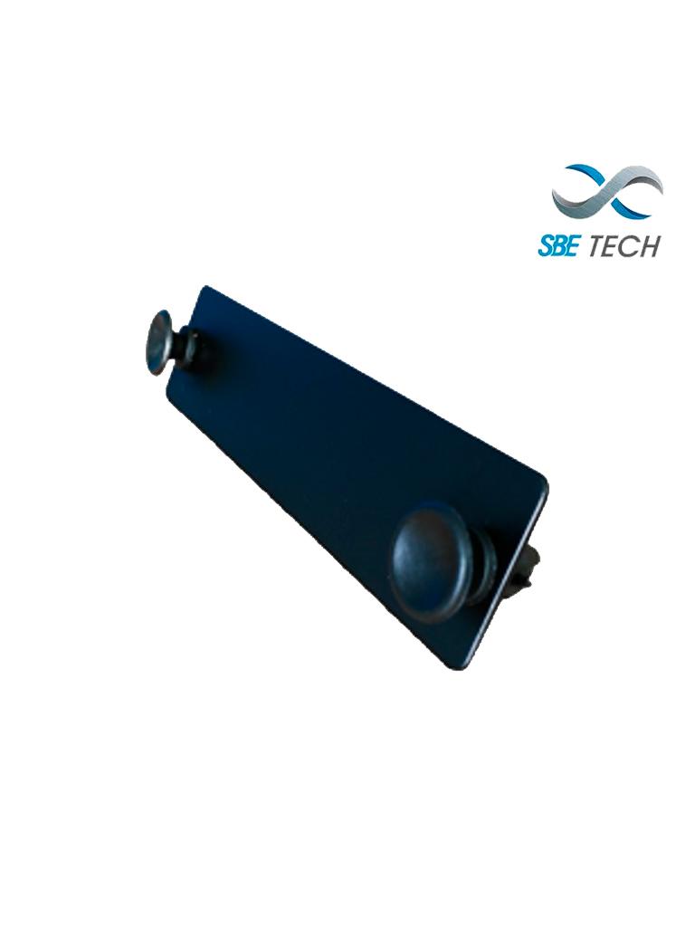 SBETECH SBE-BLANKFO - Placa ciega para distribuidores tanto de rack como pared
