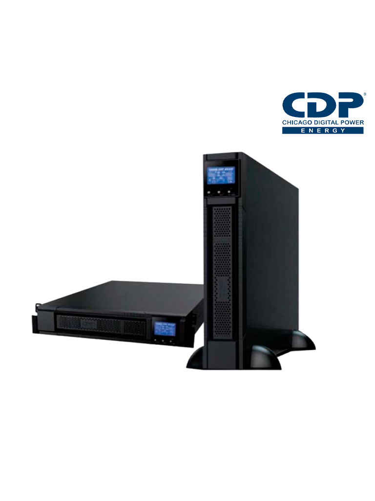 CDP UPO112RT- UPS/ 2000 VA/ 1800 W/ RACKEABLE/ PUERTOS DE COMUNICACION RS232 Y USB/ SOBRE PEDIDO