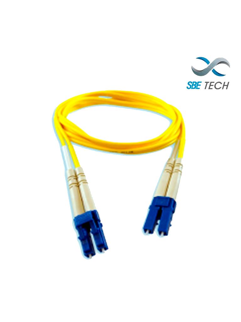SBETECH JUMLCLC2MSMD- Jumper LC-LC SM duplex 2mm/ 2 Metros/ UPC
