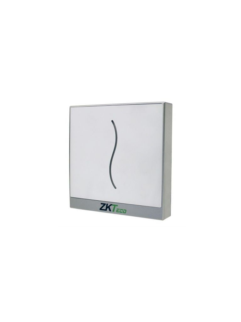 ZK PROID20WE -  LECTOR DE TARJETAS DE PROXIMIDAD ID 125 KHZ / SALIDA WIEGAND 26 0 34 AJUSTABLE / IP65 /COLOR BLANCO