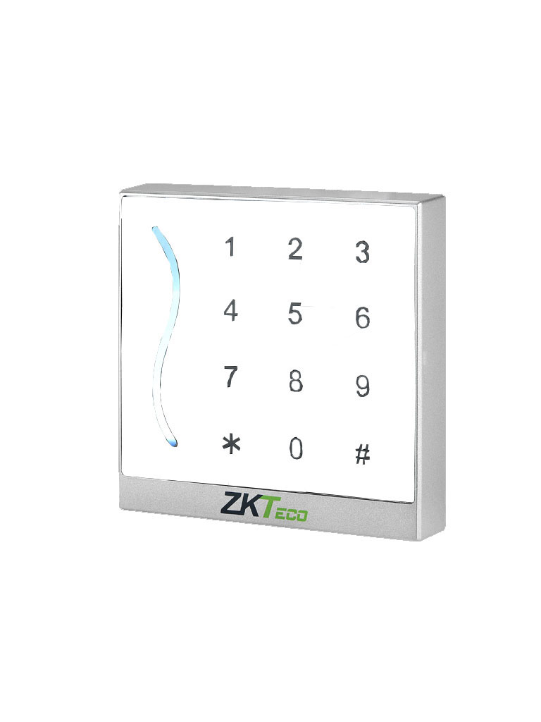ZK PROID30WE485 -  LECTOR DE TARJETAS DE PROXIMIDAD ID 125 KHZ / SALIDA RS485 / IP65 / WIEGAND 26 Y 34 AJUSTABLE / COLOR BLANCO
