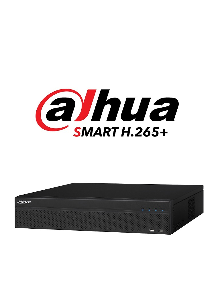 DAHUA XVR5832SX- DVR 32 CANALES HDCVI PENTAHIBRIDO 1080P/ 5MP LITE/ 4MP LITE/ H265+/ 2 HDMI/ E&S ALARMA/ 8 SATA/ SMART AUDIO/ RENDIMIENTO IP 128MBPS
