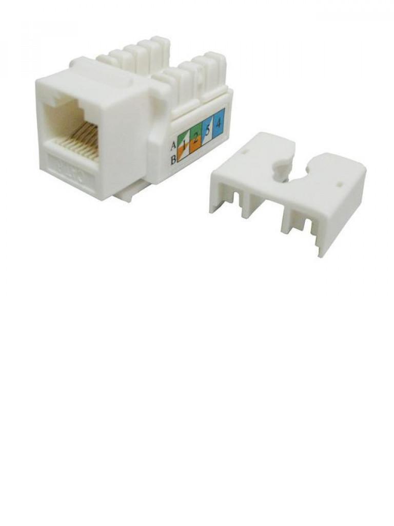 TVC aC6U7KB9DNWH - JACK Modular UTP / CAT 6 / Color blanco