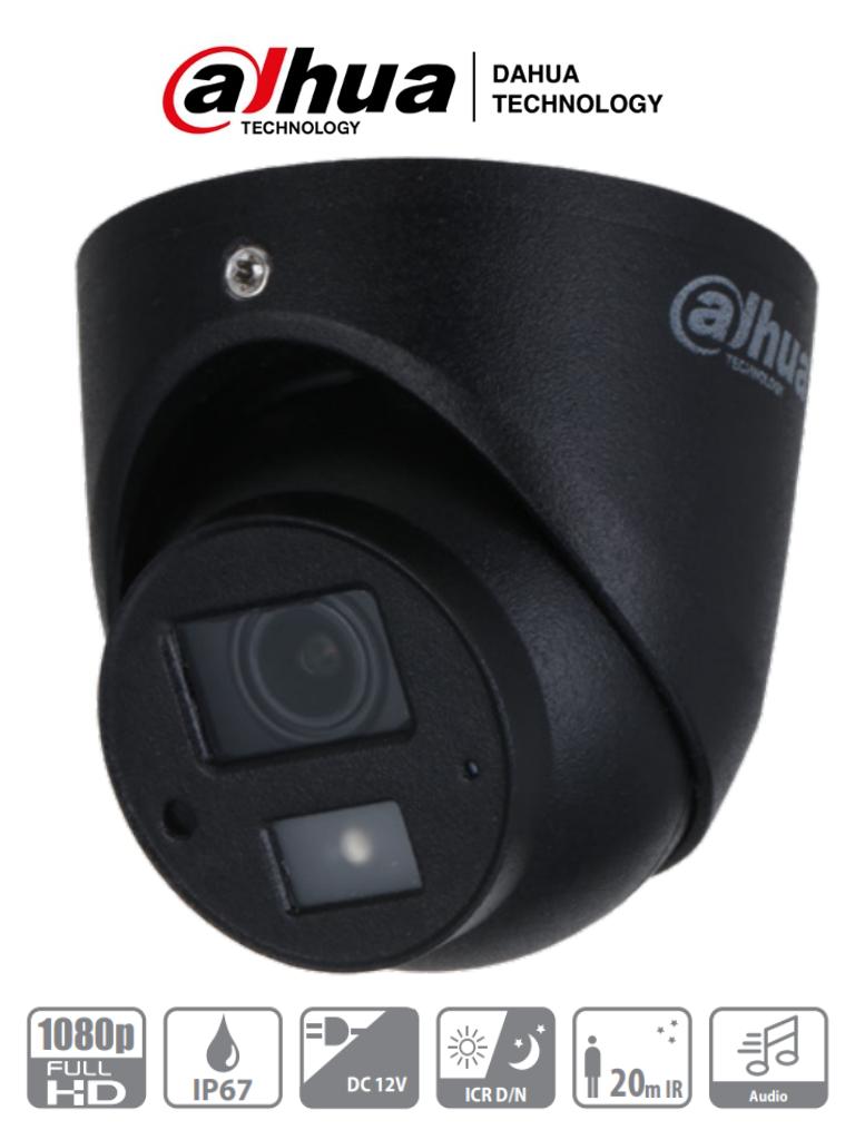 DAHUA HAC-HDW3200G-M28 -  Camara Mini Domo de 2 Megapixeles/ Especial para DVR Movil/ Lente de 2.8mm/ 101 Grados de Apertura/ IR de 20 Mts/ Microfono Integrado/ A Prueba de Choques/ IP67/ #Proyectos