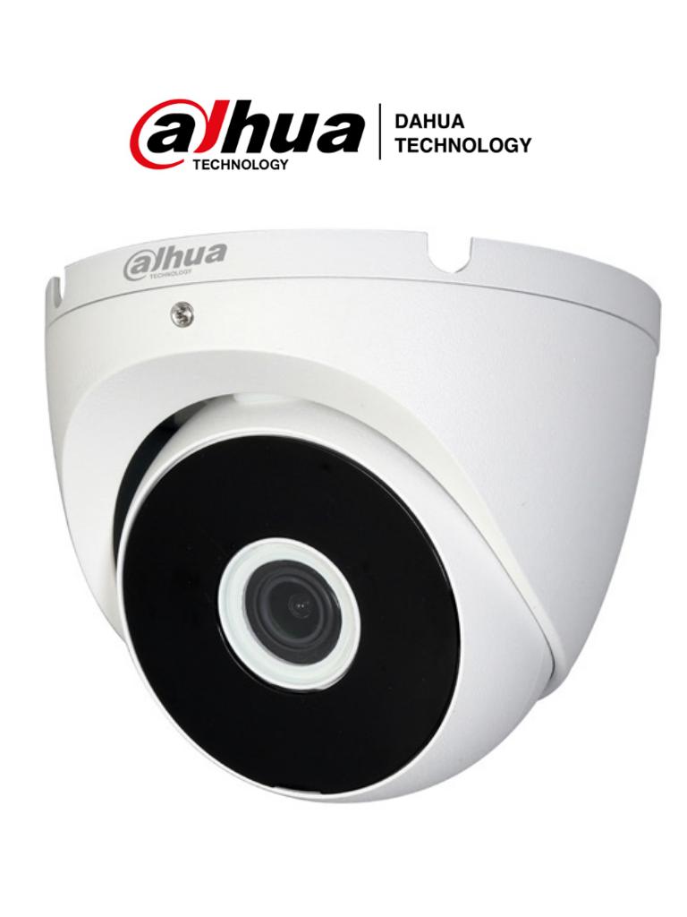 DAHUA COOPER T2A51-28 - Camara Domo de 5 Megapixeles/106 Grados de Apertura/ Metalica/ Lente de 2.8 mm/ IR de 20 Metros/ Soporta: CVI, AHD, TVI y CVBS/