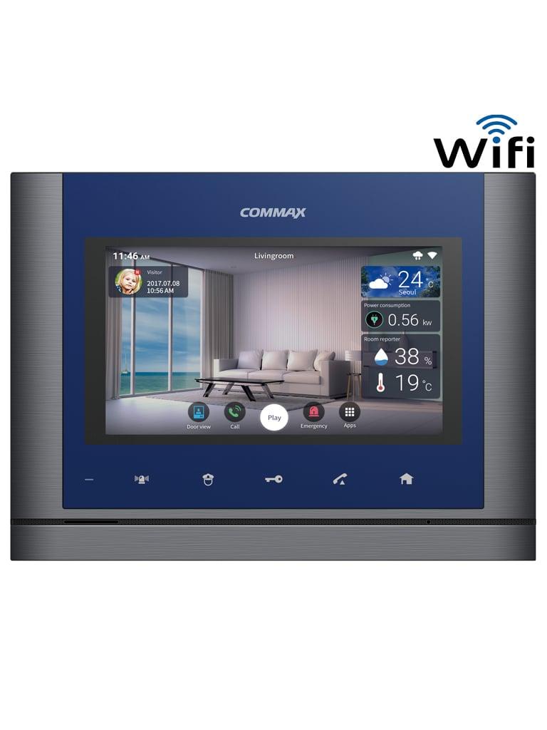 COMMAX CMV70MX - Monitor touch 7 pulgadas  WiFi / Notificacion a celular / Conexion con frente a 4 hilos / Soporta MODUM / Android