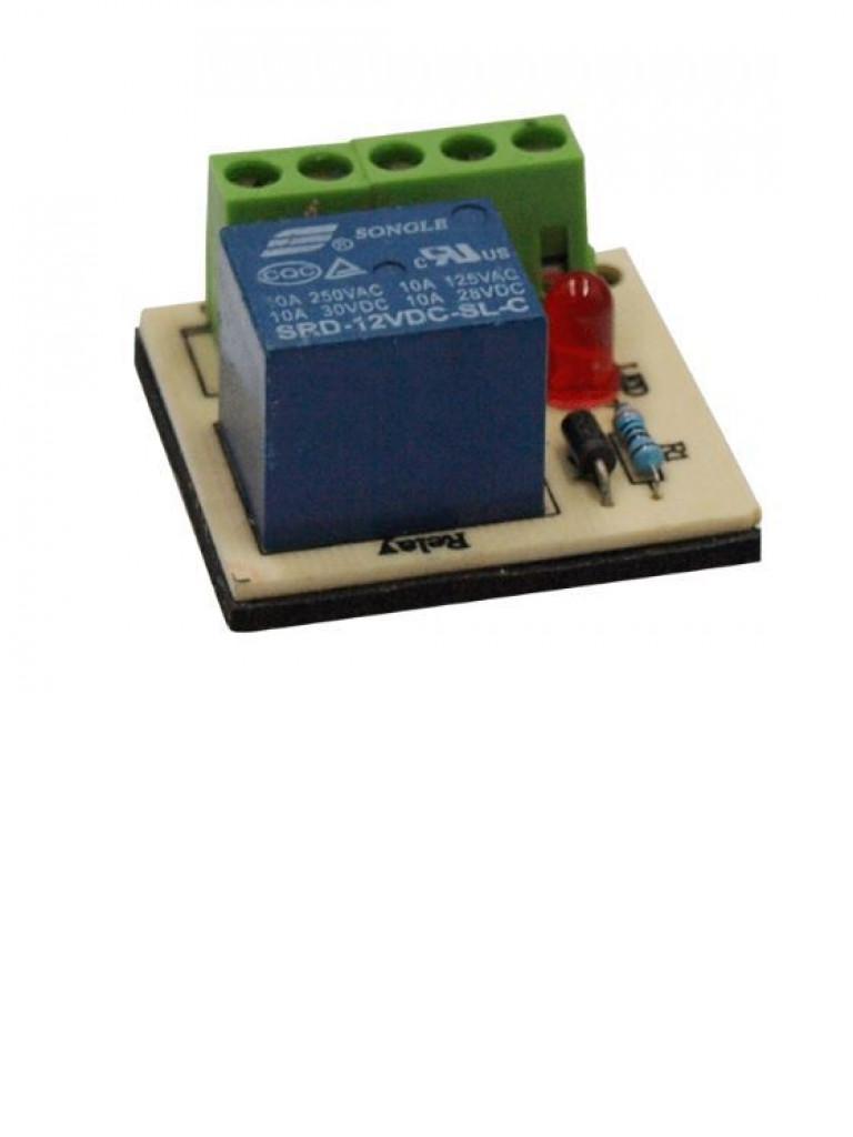 YLI PCB502 - Modulo de relevador externo / Para control de acceso / Conexiones NO /  NC /  COM a 12 VDC