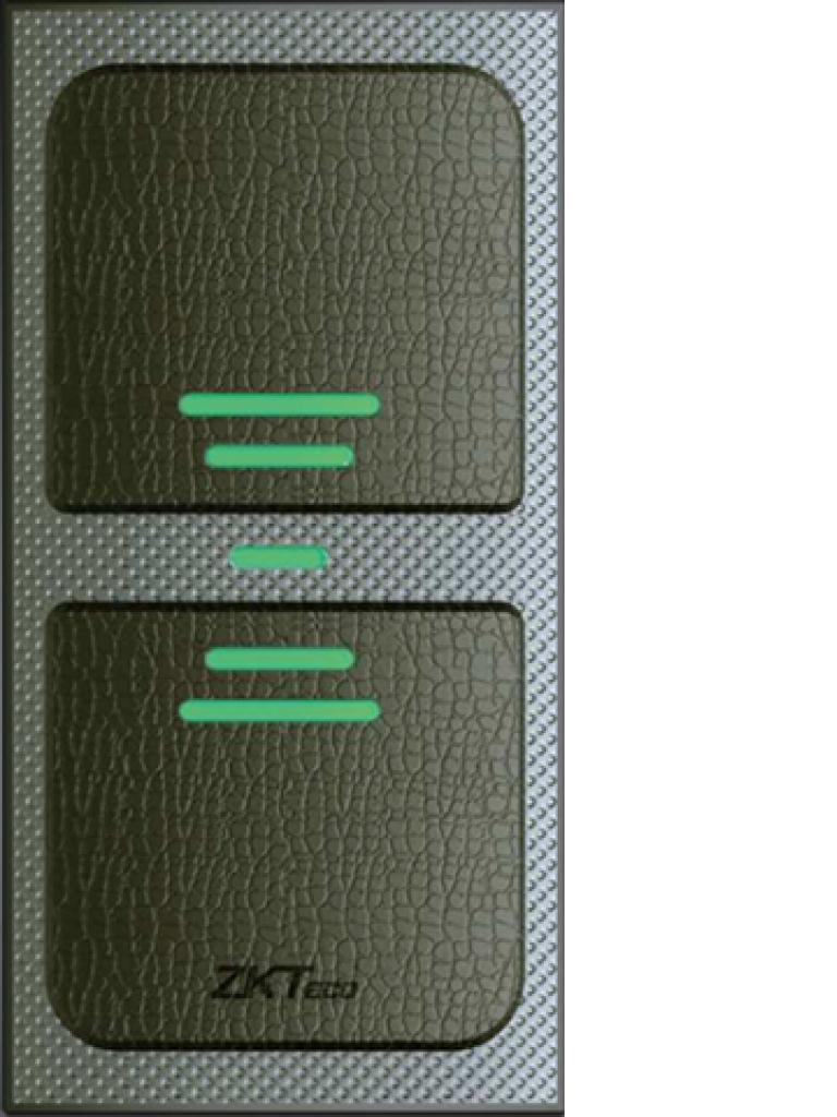 ZKTECO KR503 - Lector Esclavo para Tarjetas ID 125 Khz/ IP65/ WEIGAND 26 Bit/  LED Indicador de Estado