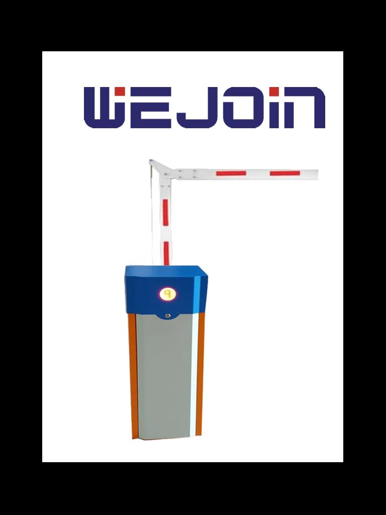 WEJOIN WJCB01SVIL23 - Barrera Vehicular izquierda de uso rudo / Servo Motor / Brazo Octagonal Articulado De 3 Metros A 90 Grados / Velocidad 3 segundos / Izquierda o Derecha