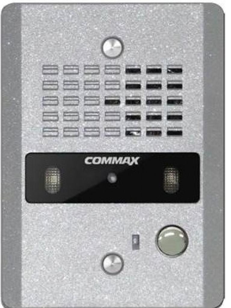 COMMAX aDRC4CGNS- CAMARA PARA VIDEOPORTERO A COLOR CON LED PARA FUNCION NOCTURNA EN HOUSING PLATA