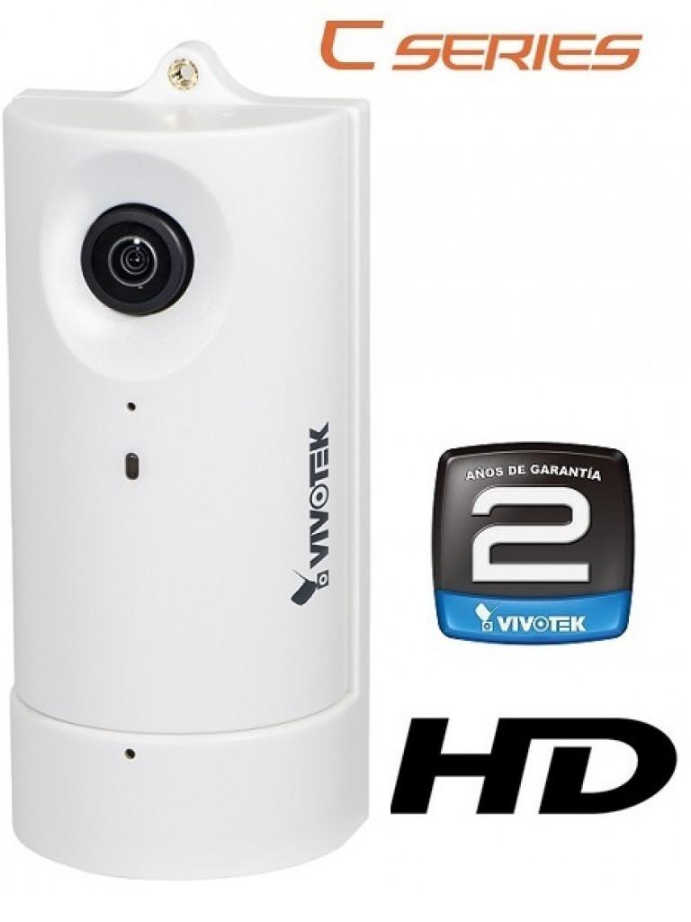 VIVOTEK CC8130 - CAMARA IP PARA INTERIOR/ 1 MEGAPIXEL HD/ VISION 180 GRADOS/H.264/POE/ AUDIO