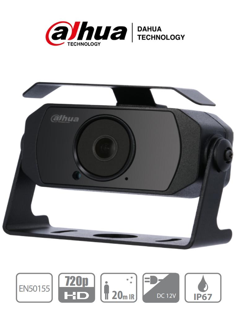 DAHUA HAC-HMW3100 - Camara Cubo Especial para DVR movil 720p/ Lente 2.8 mm/ 92 Grados de Apertura/ Microfono Integrado/ IP67/ IR 20 Mts/ IP67/ Protección Contra Choques/ #CamarasDahua