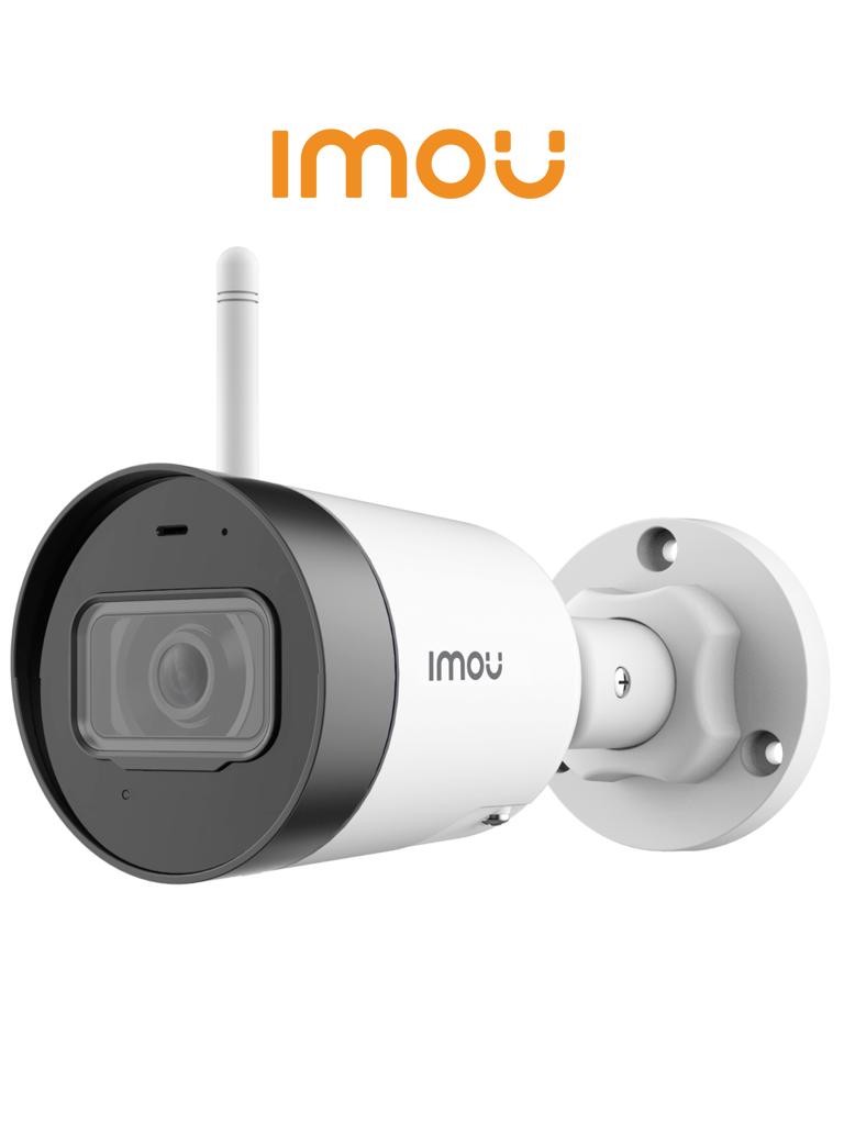 IMOU BULLET LITE - Camara IP Bullet de 2 megapixeles Wifi/ H.265/ Lente de 2.8mm/ IR 30 mts/ IP67/ Audio Integrado/ Ranura para MicroSD