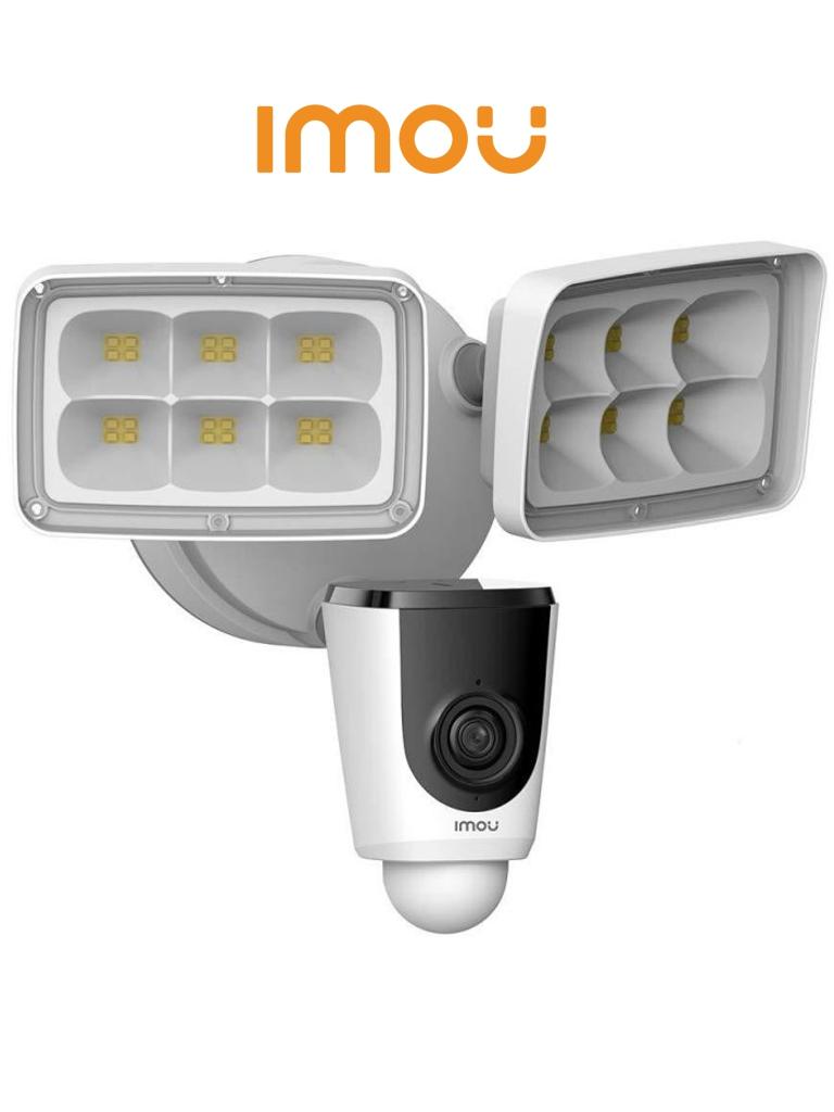 IMOU FLOODLIGHT - Cámara IP de 2 Megapixeles/ Reflectores incorporados/ Disuasión Activa/ PIR/ IP65/ Wifi/ Ranura Micro SD/ Audio