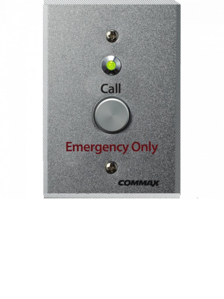 COMMAX ES400 - Boton de emergencia para llamado de enfermeria / Compatible con JNS4CS / Instalacion en sanitario y lavabo