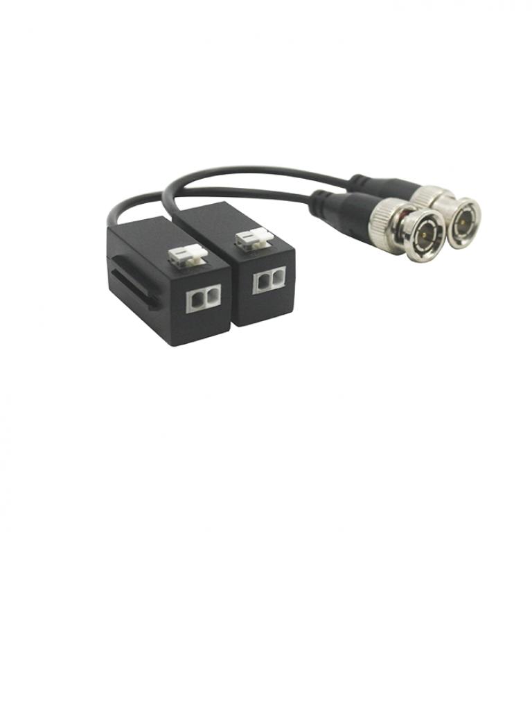 DAHUA PFM8004MPPAKIV - Paquete de 50 pares de transceptores pasivos HDCVI 4K / 6 MP / 4 MP / Transmisión video 4 MP 200 metros / 250 Metros  1080p / 400 Metros  720p