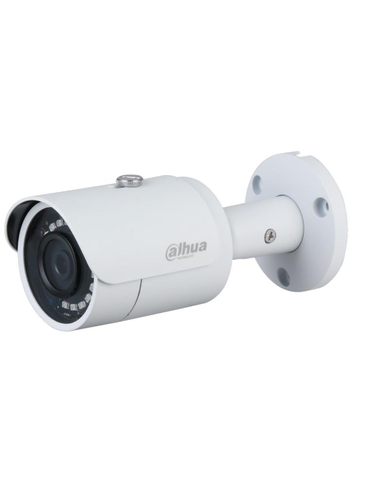 DAHUA IPC-HFW1431S-S4 - Camara IP Bullet de 4 Megapixeles/ Lente de 2.8mm/ 93 Grados de Apertura/ IR de 30 Mts/ 30 FPS/ WDR Real/ H.265+/ 3D DNR/ IP67/ PoE/ Metalica