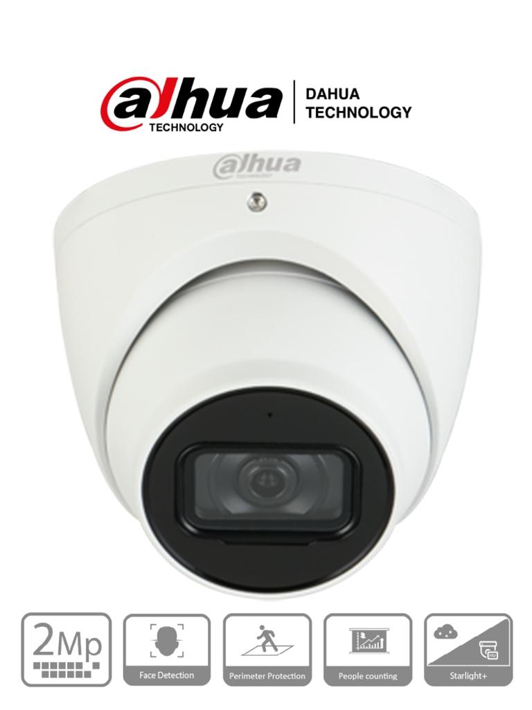 DAHUA DH-IPC-HDW5241TMN-ASE - IP Domo 2 Megapixeles/ Lente de 2.8 mm/ Microfono Integrado/ Face Detection/ MicroSD/ #ProtecciónPerimetral #Proyectos