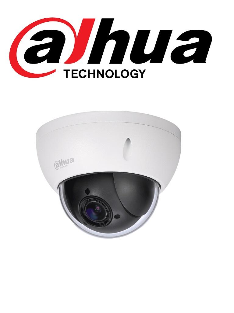 DAHUA SD22204UEN - GN - Camara IP PTZ mini domo 4X  1080p / Antivandalica / H.265 / STARLIGHT / WDR Real / IVS / .005 Lux / IK10 / IP66/