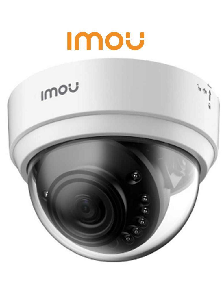 IMOU DOMO LITE - Camara IP Domo Wifi de 2 Megapixeles/ Lente de 2.8mm/ 114.6 Grados de Apertura/ IR de 20 Mts/ Alerta de Movimiento/ H.265/ Ranura para MicroSD/ Uso Interior/ Compatible con Asistentes Virtuales (Alexa y Google)