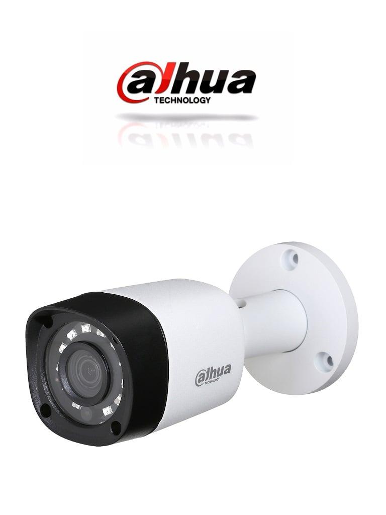 DAHUA HFW1000RM28- CAMARA BULLET HDCVI 720P/ TVI / AHD / CVBS/ LENTE 2.8MM/ 0.05 LUX COLOR/ DWDR/ SMART IR 20 MTS/ IP67/ METALICA
