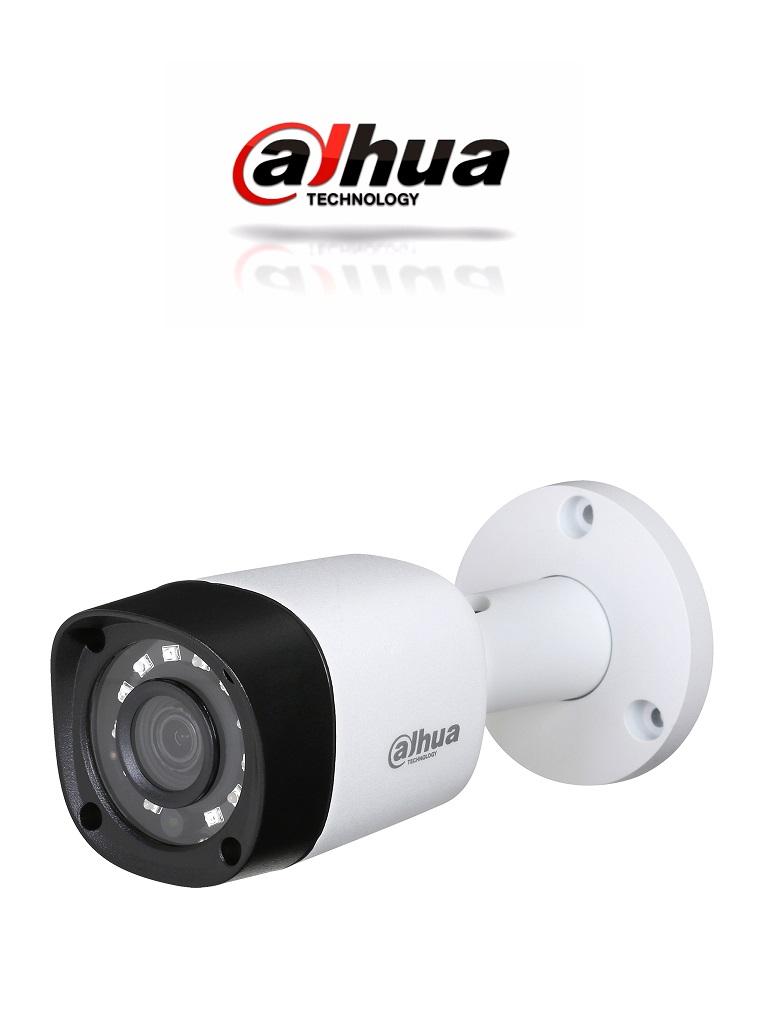 DAHUA HFW1000RM28 - Camara bullet  HDCVI  720p / TVI / A HD / CVBS / Lente 2.8 mm / 0.05 Lux color / DWDR / Smart ir 20  Mts / IP67 / Metalica
