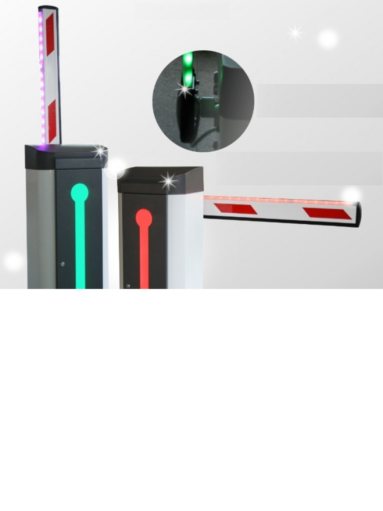 WEJOIN ARMR4LED - Brazo recto  LED de 4 metros / Compatible con barrera  LED izquierda TVB348020