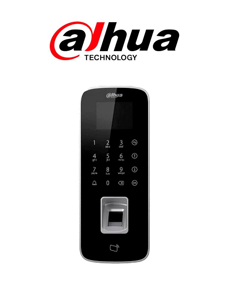 DAHUA ASI1212DD- Control de Acceso TCP/IP STANDALONE/ Uso interior / 3,000 Huellas/ 150,000 Eventos/ 30,000 usuarios/ Tarjetas ID / Admite lectora tarjetas #AccesoProfesional