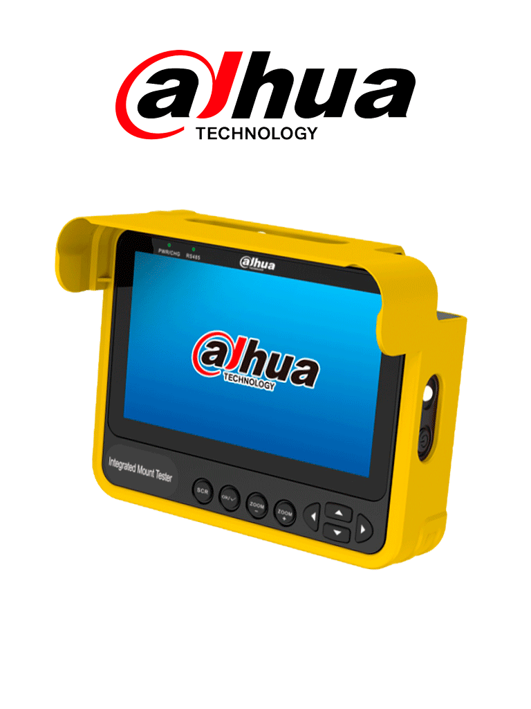 DAHUA PFM904 - Tester o Probador de Video/ Compacto y Portable/ Soporta Control PTZ/ Linux/ Pantalla de 4.3 Pulgadas/ HDCVI; HDTVI; AHD; CVBS/ Soporta HDCVI Hasta 4k