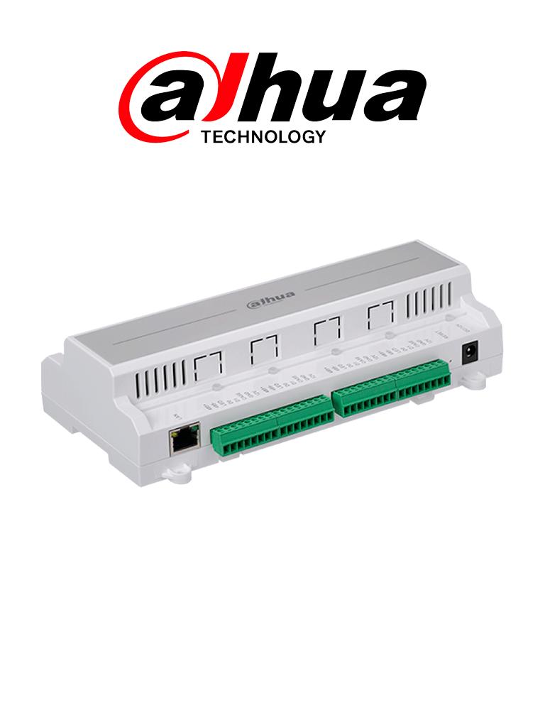 DAHUA  ASC1204B - Control de acceso para 4 puertas TCP/IP / 4 Lectoras por  Wiegand o  RS485 / 100,000 Tarjetas / 300,000 Eventos / Admite biometricos DAHUA #AccesoProfesional