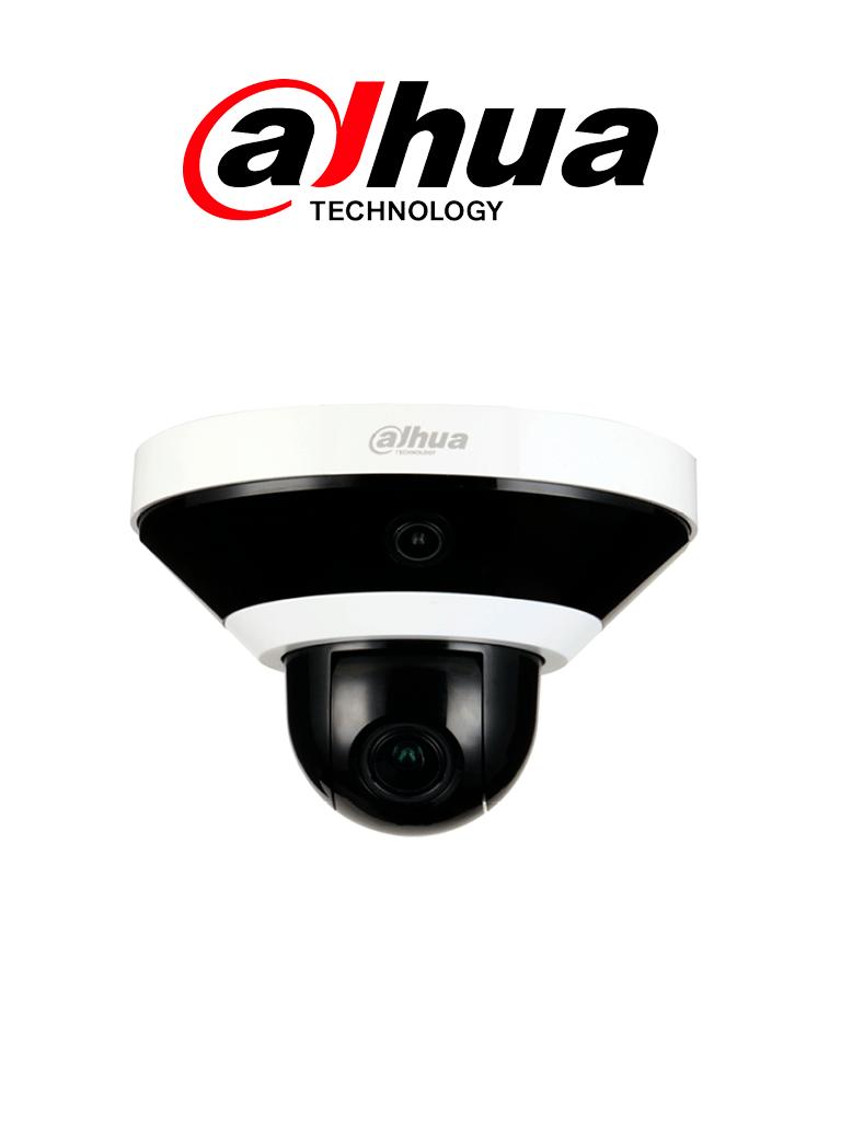 DAHUA PSDW5231SB-120 - Camara IP MultiSensor Panoramico+PTZ/ 2 Megapixeles/ 1 Lente de 120 grados/ Camara PTZ 4X de Zoom/ Ir 15 Mts/ H.265+/  PoE/ Ranura para MicroSD/ Uso Interior/ #Proyectos