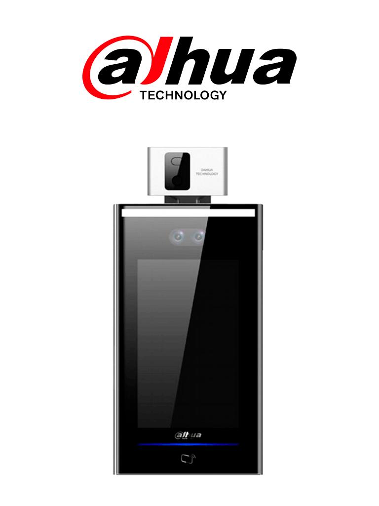 DAHUA ASI7213XT1- Control de acceso STANDALONE por Reconocimiento Facial con Detección de Temperatura/ 100,000 Rostros/ Para Interior/Pantalla 7 #COVID19 #AccesoProfesional
