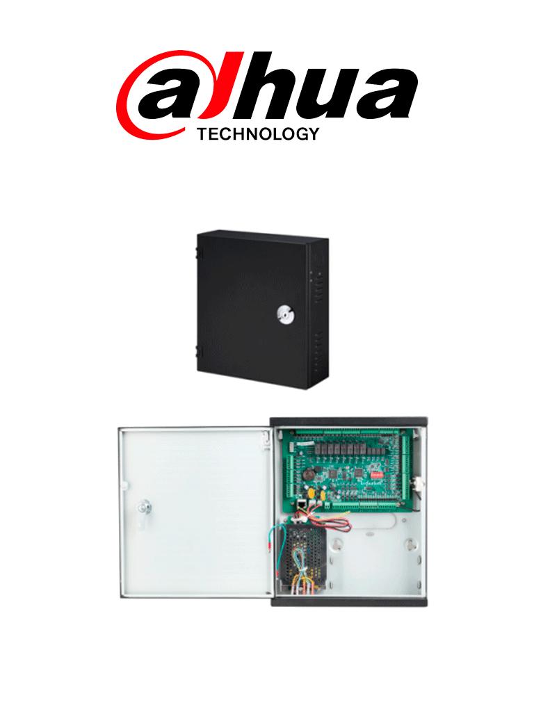DAHUA ASC1204C - Control de acceso 4 puertas TCP/IP / 4 Lectoras  Wiegand o  RS485 / 100,000 Tarjetas / 150,000 Eventos / Admite biométricos DAHUA / Conexión 110V / Soporta batería de respaldo #AccesoProfesional
