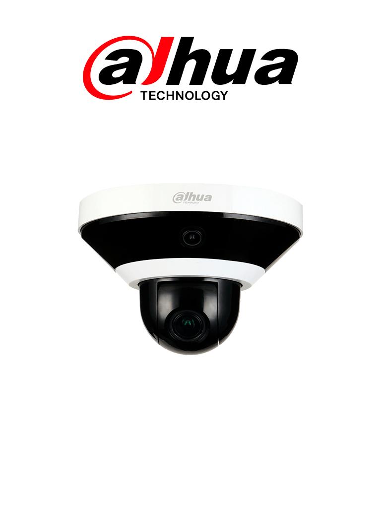 DAHUA PSDW5631S-B360- Camara IP Panoramica Multisensor 3X2+PTZ/2 Megapixeles/ 360 Grados/ Camara PTZ 4X de Zoom/ Ir 15 Mts/ H.265+/  PoE+/Ranura para MicroSD/ Uso Interior/ #Proyectos