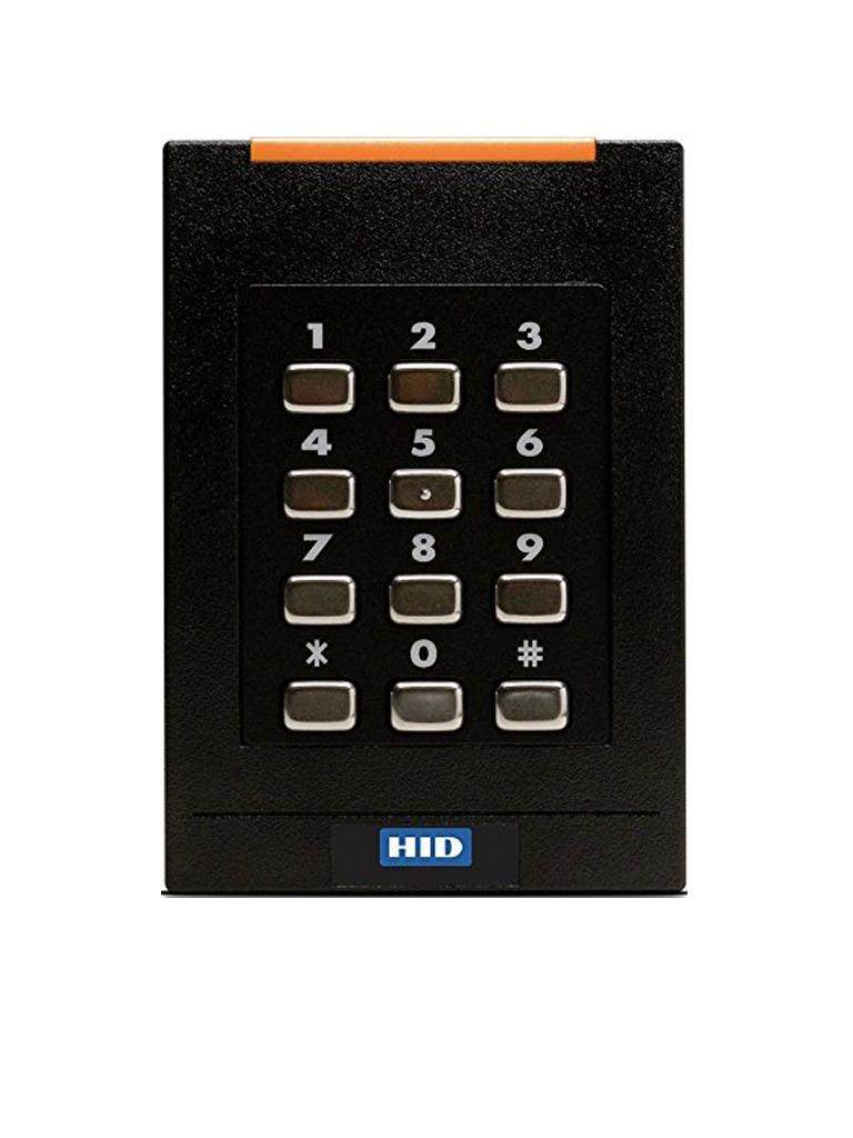 HID RK40P - Lector  RF ID ISOPROX 125  Khz / VAL IDACION Por PIN y tarjeta / Conexion  Wiegand / SOBREPED IDO